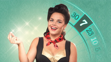 Play live roulette and you can win €77