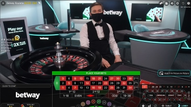 Betway Casino Offers a Wide Choice of Live Roulette