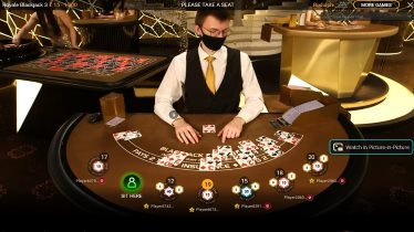 Live Blackjack Tables from Playtech at Bgo Casino