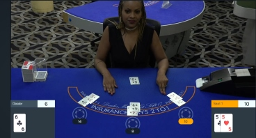 Live Blackjack with Early Payout at Bovada Casino
