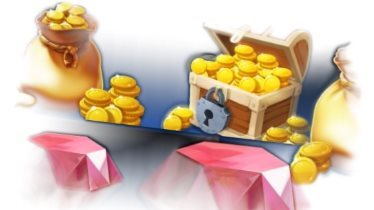 Collect Treasure Bags and Rubies at CasiTabi Casino