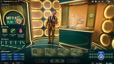 Gameshows from Evolution at the CasiTabi Live Lobby