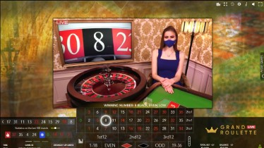 LuckLand Casino Live Roulette