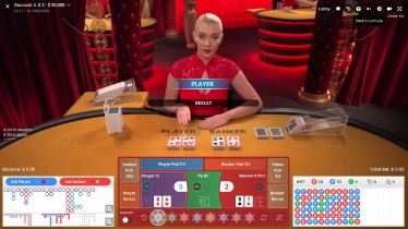 Variety of Live Baccarat Tables at Lucky Niki Casino