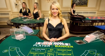 Live Baccarat at Mansion Casino