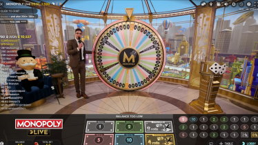 NetBet Live Monopoly by Evolution Gaming