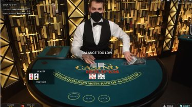 Live Poker Tables at Ruby Fortune Casino