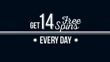 Enjoy 14 free spins every day at True Blue Casino
