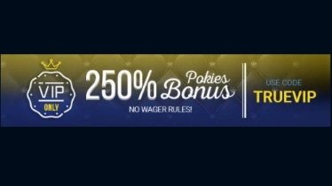 True Blue offers pokies bonus with no wagering rules