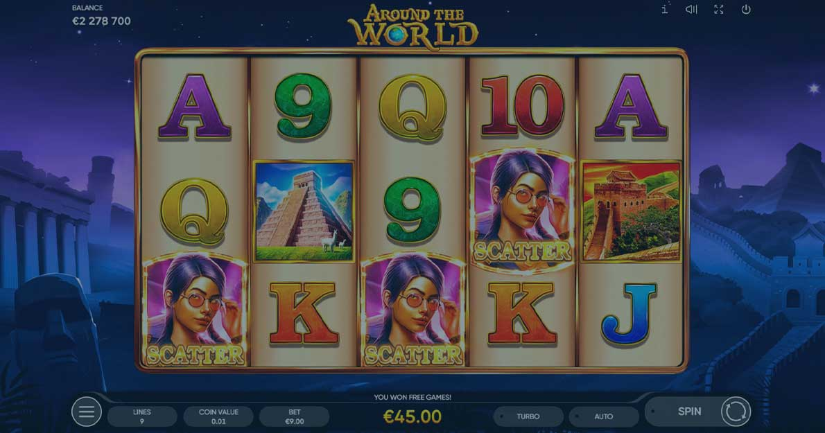 Play Around the World Slot demo for free