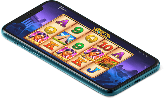 Around the World video slot mobile play