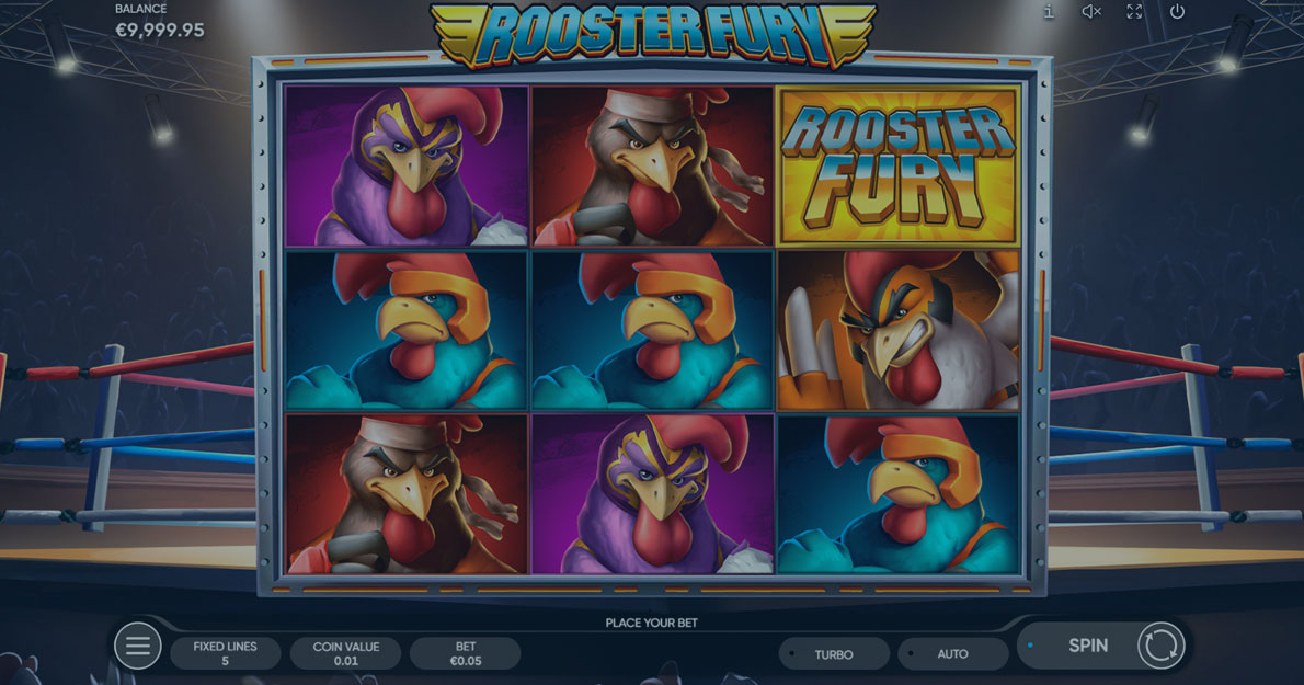 Play Rooster Fury Slot Game Demo