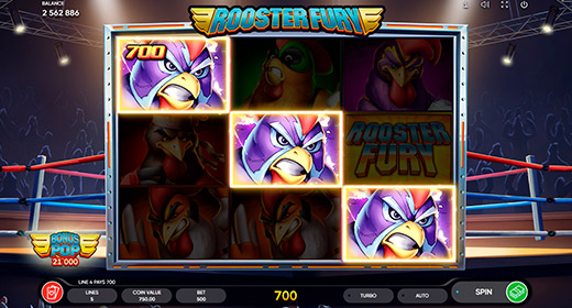 Rooster Fury In-Game
