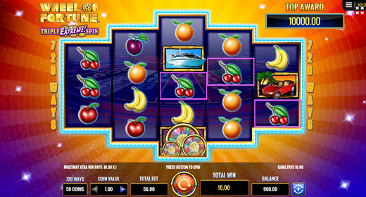 Wheel of Fortune on Tour game preview
