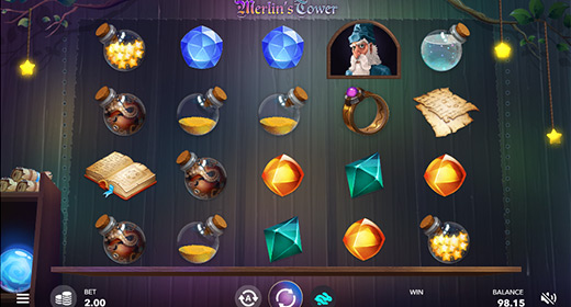 Merlin's Tower game preview 1