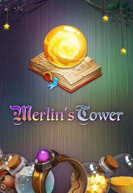 Merlin's Tower game poster