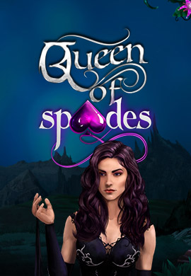 Queen of Spades game poster