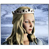 Avalon II - Payout table - symbol Guinevere