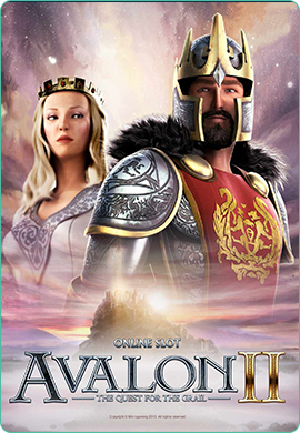 Avalon II by Microgaming Poster