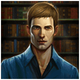 Immortal Romance Payout Table - symbol Man in Blue