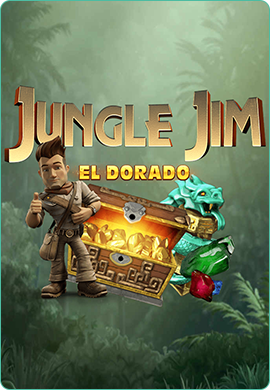 Jungle Jim El Dorado by Microgaming Poster