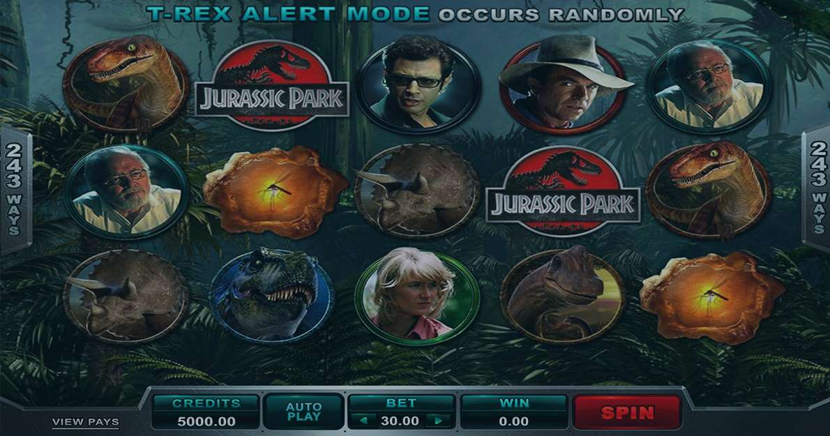 Play Jurassic Park Slot demo for free