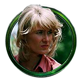 Jurassic Park Video Slot Payout Table - symbol Ellie