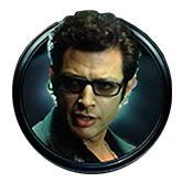 Jurassic Park Video Slot Payout Table - symbol Malcolm