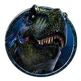 Jurassic Park Video Slot Payout Table - symbol T-Rex