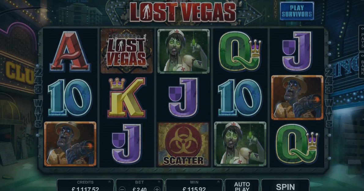 Play  Lost Vegas demo version for free