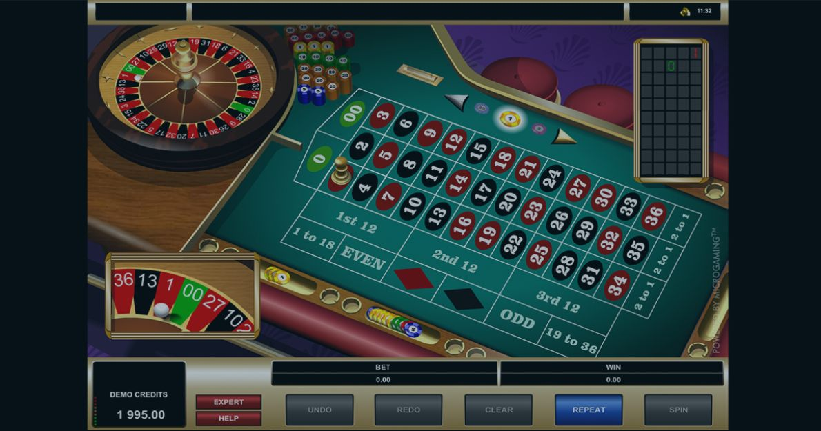 Play American Roulette by Microgaming for free