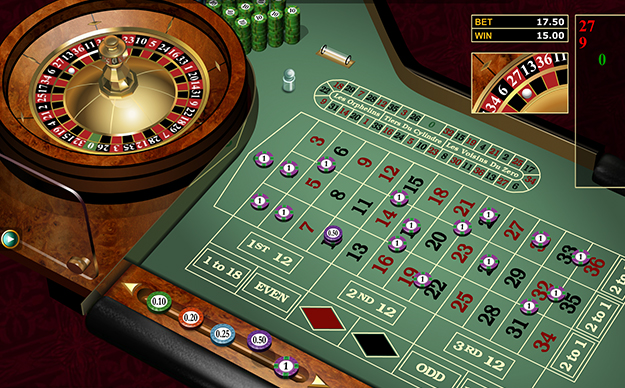 European Gold Roulette by Microgaming gameplay view