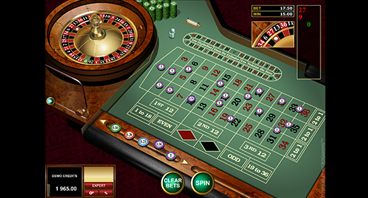European Roulette Gold by Microgaming game preview