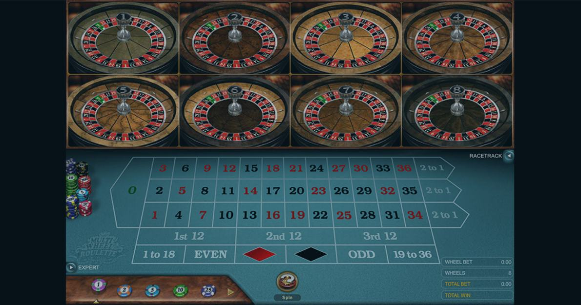 Play Multi-Wheel Roulette Gold by Microgaming for free