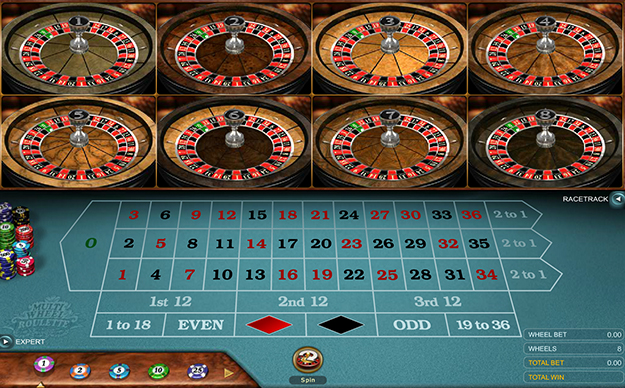 Multi-Wheel Roulette Gold by Microgaming gameplay