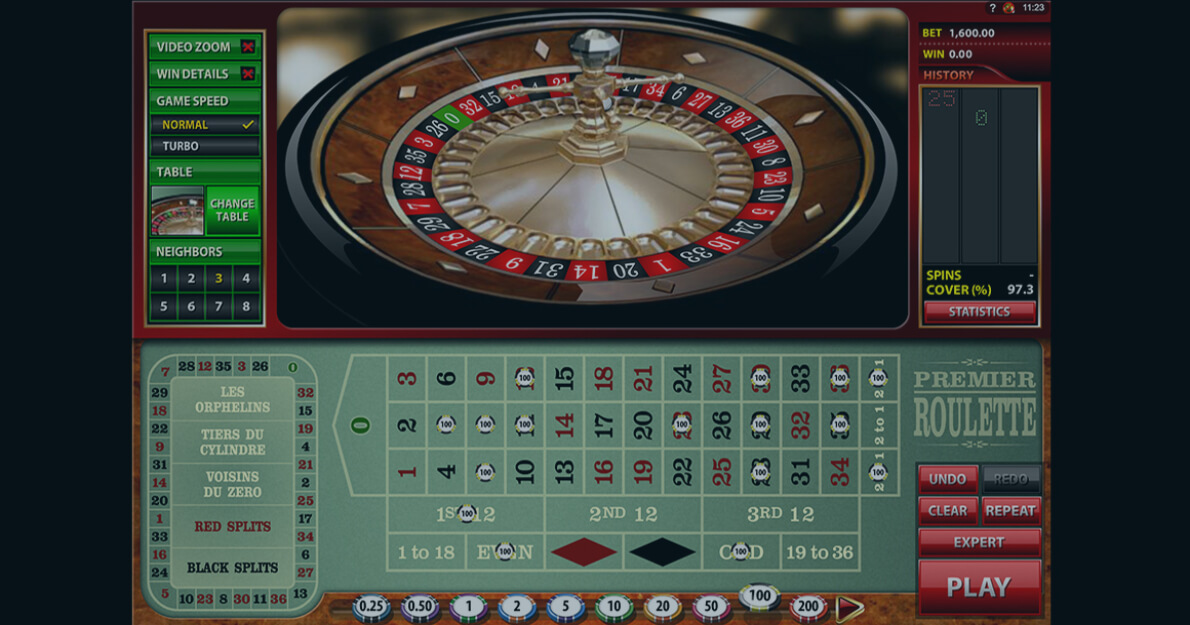 Play Premier Roulette by Microgaming for free