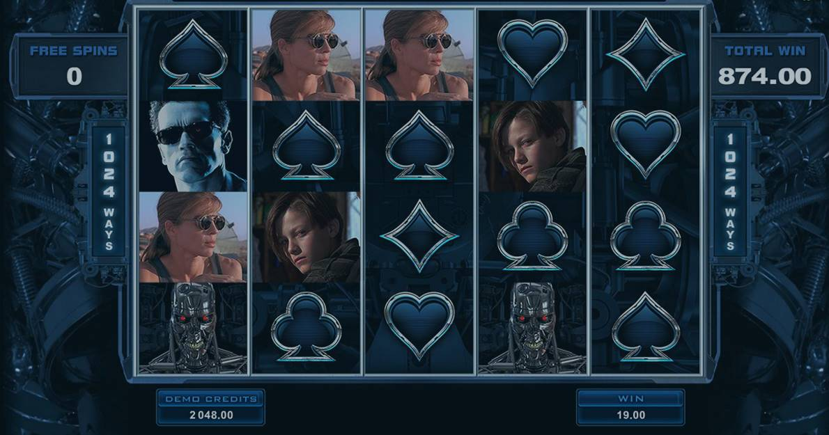 Play Terminator 2 online slot for free