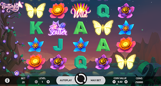 Butterfly Staxx In-Game