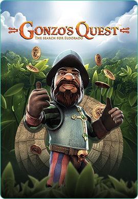 Gonzo's Quest slots poster