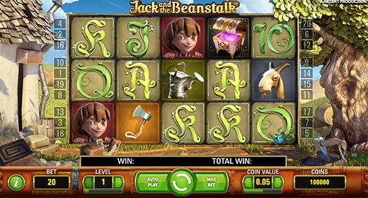 Jack and the Beanstalk In-Game