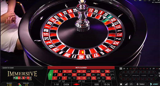 Play Roulette live at 888Casino