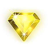 Starburst Payout Table - symbol Yellow Crystal