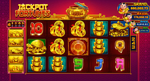 Jackpot Fortunes In-Game