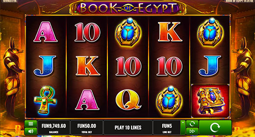 Book of Egypt In-Game