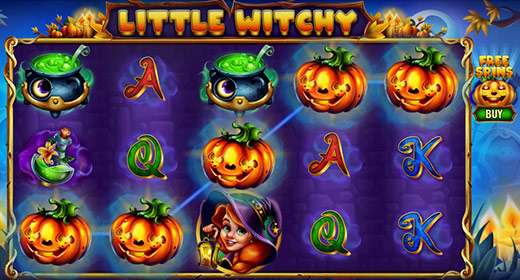 Little Witchy In-Game