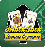 Double Exposure Blackjack Multihand by Play'n GO game poster