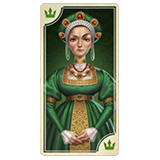 Lady in Green Symbol