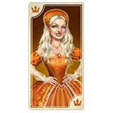 Lady in Orange Symbol