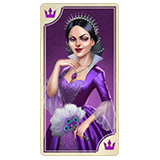 Lady In Purple Symbol