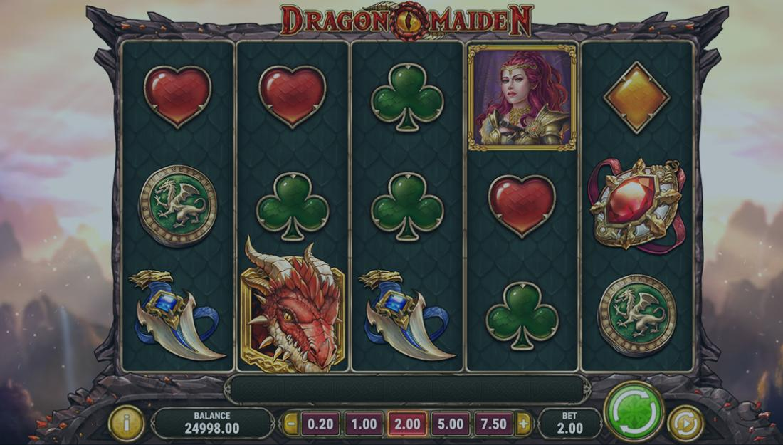 Play Dragon Maiden video slot for free